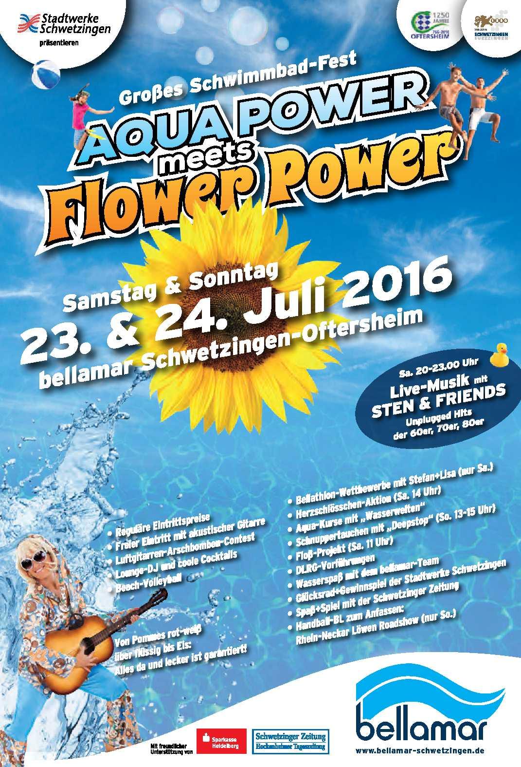 Motiv bellamar Schwimmbadfest